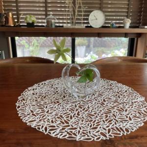 お気に入りの花器 ハートクルヴァ