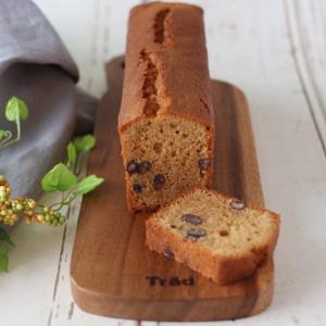 グルテンフリー・米粉の黒みつきなこケーキ