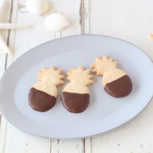 ハワイ土産のクッキーみたいな 米粉おやつ完成