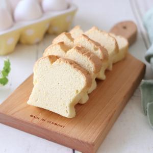 グルテンフリーの米粉 de 台湾カステラ風