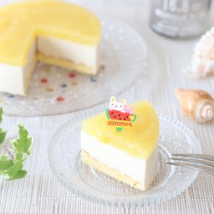 夏にピッタリ ヨーグルトレアチーズのアレンジ編