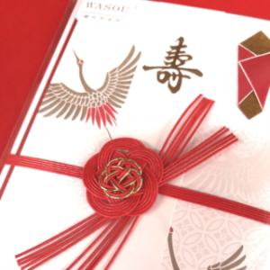 和装をモチーフにした婚礼用金封「WASOU」
