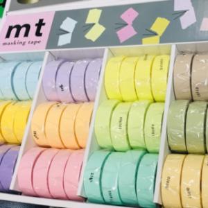 マステ「mt」春らしいパステルカラーセット!!