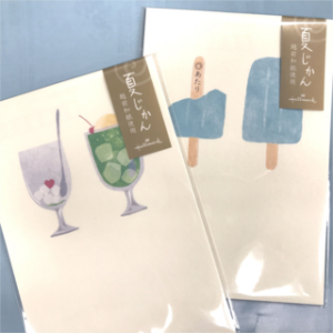【summer 2020】夏柄ポストカード <夏の時間経過を表現>