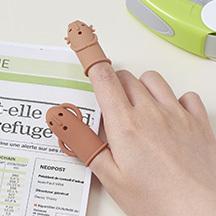 はにわの形の指サック「はにさっく」