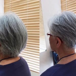 【70代昭和の乙女】グレイヘアショートの刈り上げ