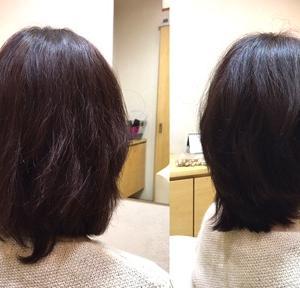 【頭大きく見える問題】伸びた髪レイヤーカットで解決してみた