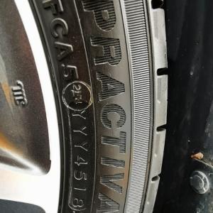 タイヤ交換 その2