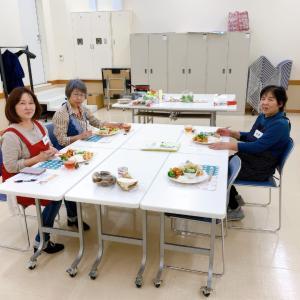 【料理教室】ウニクス鴻巣カルチャーセンターにてテーマ野菜は、サトイモです。