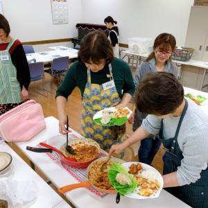 【料理教室】アリオ深谷カルチャーセンター テーマ野菜はサトイモです。