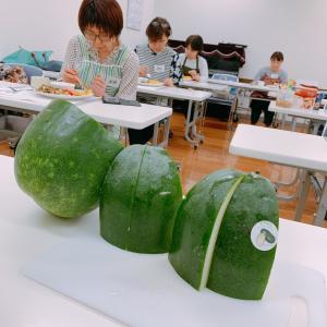 【料理教室】今月のテーマ野菜は、ピーマンです。