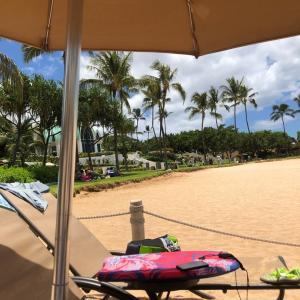 子連れハワイ2日目~ビーチでランチ~