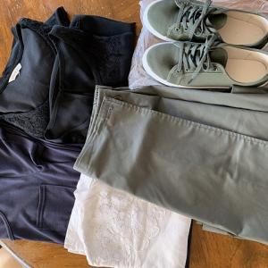 久々の衣類の捨て