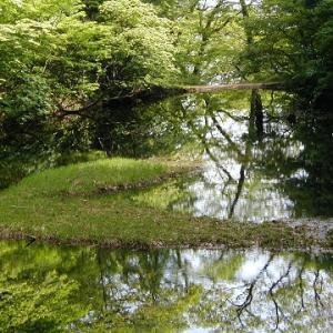 大自然の乙和池・・・奇麗です。