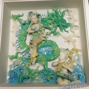 パリ展示~carving作品