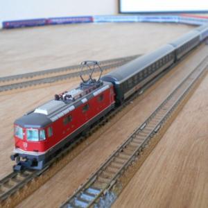 Hobbytrain SBB Re420(赤)Ep.V.入線 SBB運転会 その2