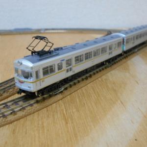 鉄道コレクション 大井川鐵道(北陸鉄道)モハ6011+クハ6061 入線