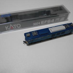 KATO EF64 1000 一般色クーラー搭載車 中古品増備と2種のクーラー交換
