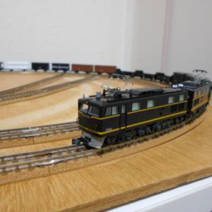 TOMIX 国鉄 東北本線一般貨物列車セット 入線 その2 いろいろな国鉄釜に牽かせてみる