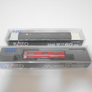 KATO レーティッシュ鉄道 電源荷物車 DS4223 入線