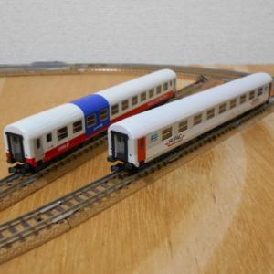 もうひとつのKATO RIC客車 HUPACとOBB Rolala