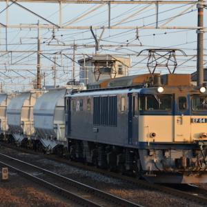 2021年稲沢界隈 その1 3月改正で登場の炭カル列車とロクロク重単