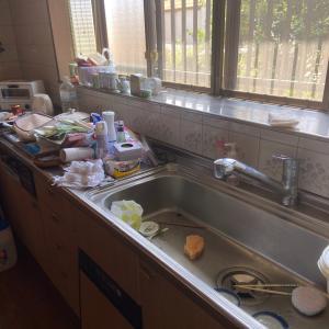 キッチンの洗いカゴを断捨離