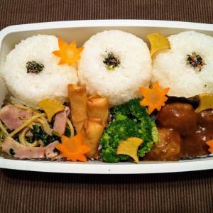 今日のお弁当 第1575号 〜カレー味の肉団子〜
