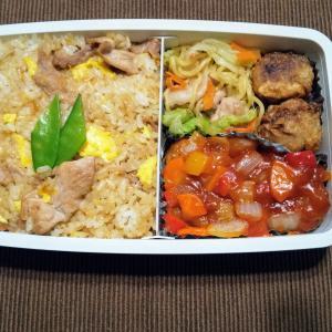 今日のお弁当 第1582号 ~自家製冷凍食品で中華弁当~