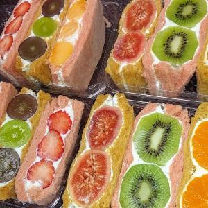 フルーツを味わうフルーツサンド JAえひめ中央本所へ ジョアンで買ったフルーツサンド