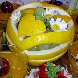 入学お祝いのフルーツ
