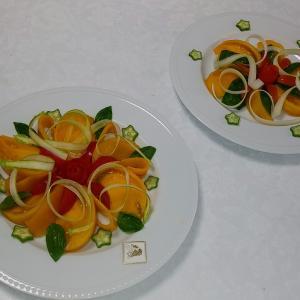 黄色の桃太郎トマト JAえひめ中央料理教室8月再開