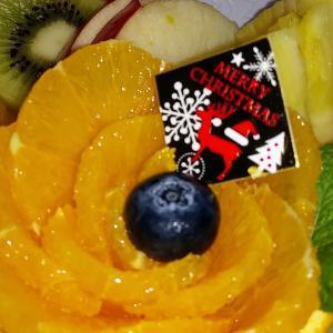 クリスマスにもフルーツ