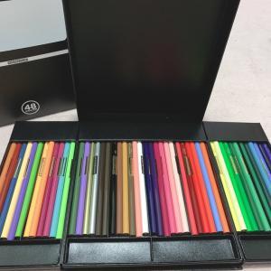 色鉛筆買ったにゃー(*´ω`*)