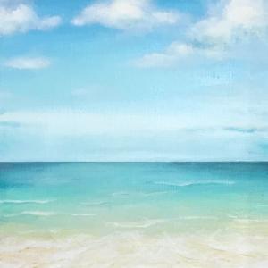 【アクリル画】海行きたーーーーーーーい!!!
