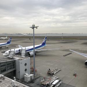 奇跡の虹 羽田空港