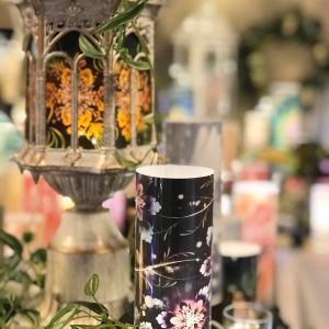 重要文化財の萬翠荘にて 結晶の花®️展示会の初日でした