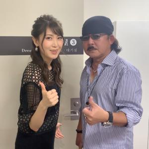 小田純平さんと!7カ月ぶりのステージ!