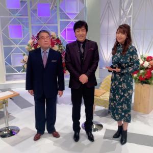 BSテレ東「徳光和夫の名曲にっぽん」オフショット!