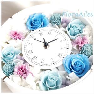 ◆花時計はハンドメイドサイトからのオーダーです♪