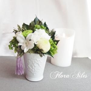 ◆夏のお供え花はプリザーブドフラワーが安心です