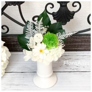 ◆オーダーレッスンは偲ぶ思いをお花に込めるレッスンになりました