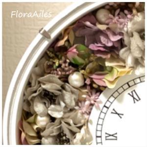 ◆真珠婚のお祝いは花時計をお選びになりました