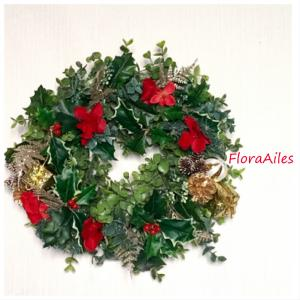 ◆季節外れですが。。。昨年のクリスマスにお届けしたクリスマスリースです♪