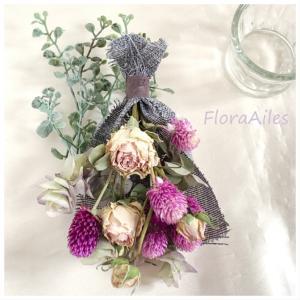 ◆退職のお祝いに選んで頂きました♪想い出のお花になれば嬉しいです