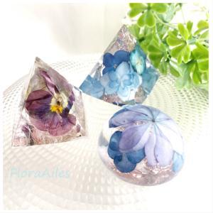 ◆フラワーオルゴナイトもお届けしております♪紫陽花がイッパイです。。。