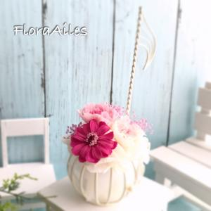 ◆音符の花器とお花の奏でるハーモニー♪お届けしております