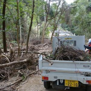 西日本豪雨災害ボランティア#14(坂町小屋浦)