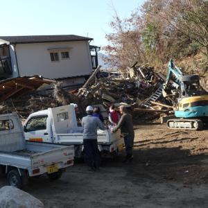 西日本豪雨災害ボランティア#15(坂町小屋浦)
