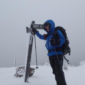 八ヶ岳 冬山の北横岳に行ってきました〜